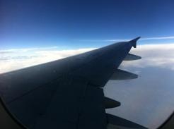 Viajar, y esa sensación vibrante de estar en el avión