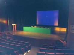 En el escenario, horas previas
