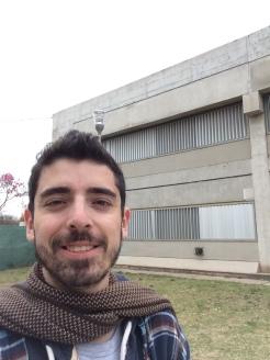 Acá visitando la U. De Córdoba (Arg.)